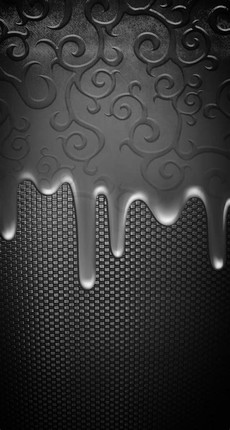 !!TAP AND GET THE FREE APP! Unicolor Metallic Pattern Grey