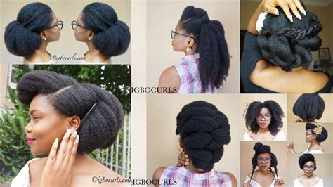 hairstyles for black hair 4c hair best hairstyles on black 4c hair 08