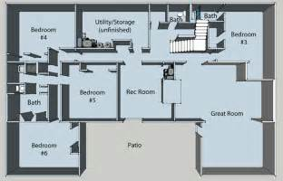 basement floor plans pros and cons of choosing a home plan with a basement your dream home