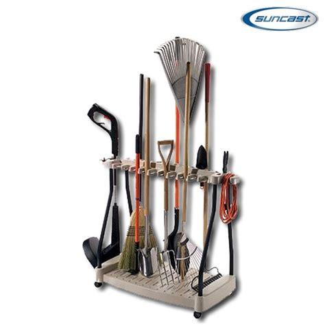 Tool Rack by Suncast Rtc1000 Tool Rack With Wheels