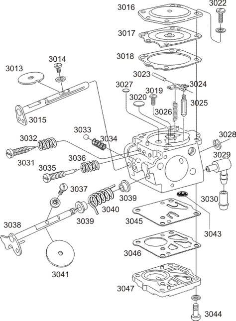 Reglage Carburateur Walbro Wa by Anjou Paramoteur Carburateur Walbro Wg8