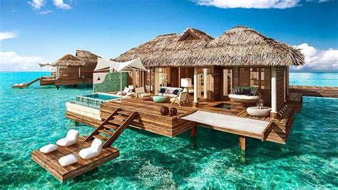 bungalow overwater in fiji islands yfgt these over the water bungalows are coming to the caribbean