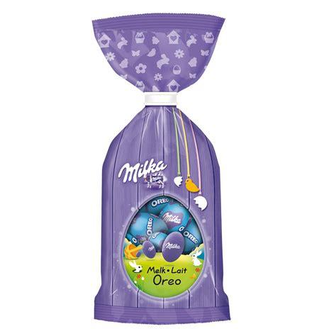 Milka Bag 2 In 1 Oreo Milk Melk Lait Chocolate Mini Easter Eggs Milka Bag