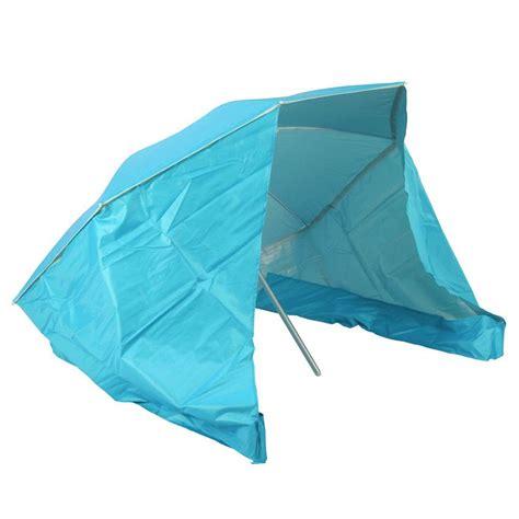 Parasol Plage Anti Uv 7209 by Parasol De Plage Et Coupe Vent Bleu Parasol Voile Et