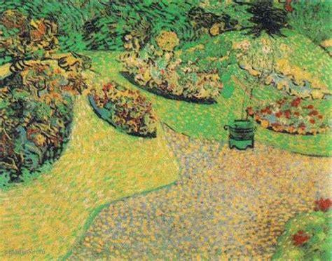 van gogh tuin schilderij afbeelding tuin in auvers vincent van gogh