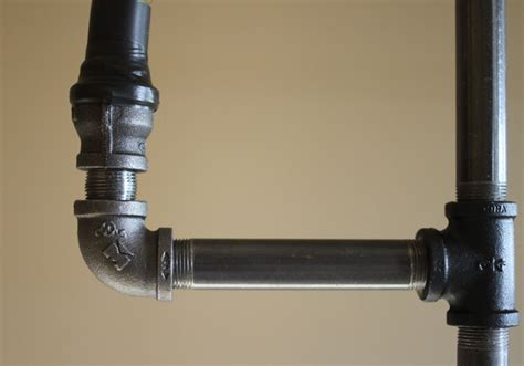 Steel Pipe Plumbing by How To Make An Industrial Pipe Floor L How About Orange