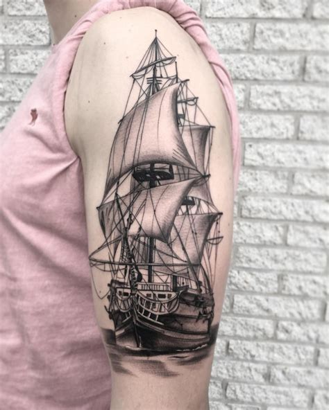 small ship tattoo designs 21 ship tattoos designs ideas design trends premium