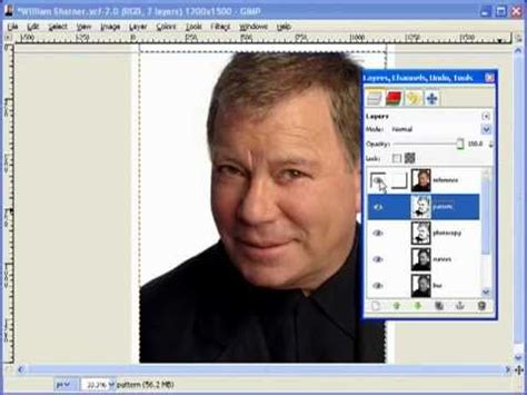 l7 filter pattern for youtube creating scroll saw portrait pattern using gimp l7 bonus