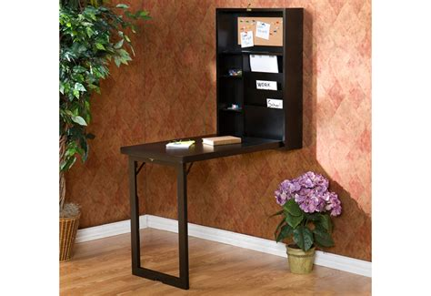 Wall Mounted Fold Down Desk Sharper Image