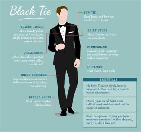 1000 ideas about black tie dress code on