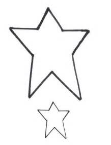 Free star shapes to use as patterns for applique quilting or clipart