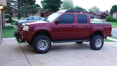 red nissan frontier lifted 2001 nissan frontier lifted wallpaper 1280x720 38617