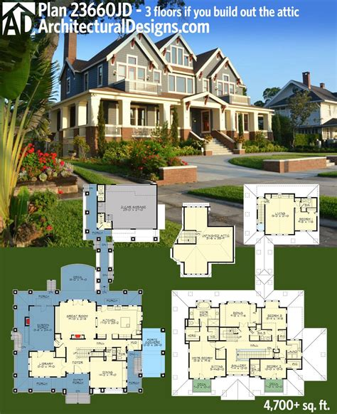 fancy house plans plan 23660jd stylish northwest house plan with garage