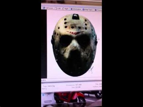 How To Make A Jason Mask Out Of Paper - how to make a jason vorhees mask out of paper