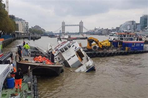 river boats in london thames river thames massive rescue operation as party boat