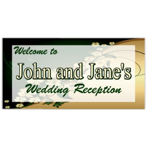 Wedding Banner Templates For Car by Wedding Banner 109 Wedding Banner Templates Templates