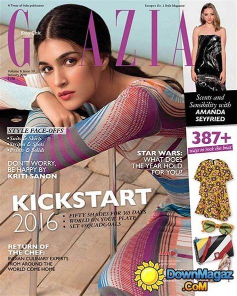 grazia  january    magazines