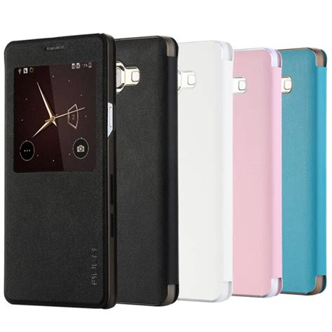 Taff Leather Flip Dual Window For Samsung Galaxy A5 2015 1 taff leather flip single window for samsung galaxy a7