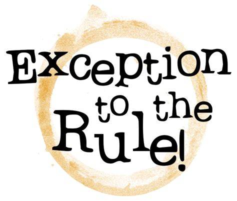 10 Exceptions To Search Warrant Rule Exception To The Rule