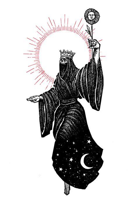 """""""Queen of Wands"""""""" 8.5""""x11"""" Watercolor Print   MICAH ULRICH"""