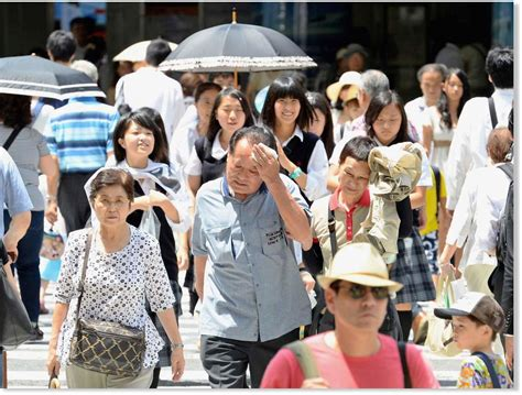 heat wave jepang heat wave in tokyo enters 8th day 55 confirmed dead in