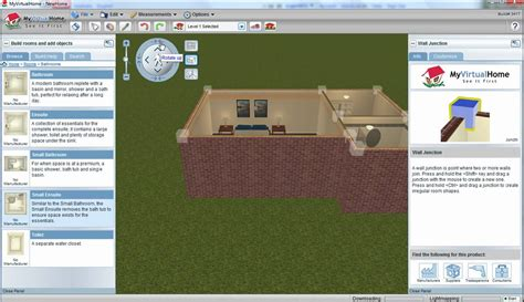 myvirtualhome free 3d home design software