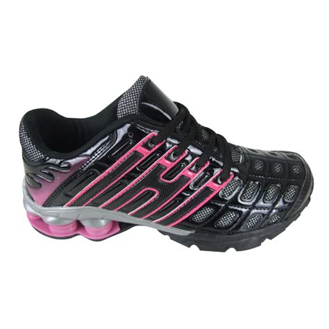 shock absorbing athletic shoes womens shock absorbing running trainer shoes size 3 8 ebay
