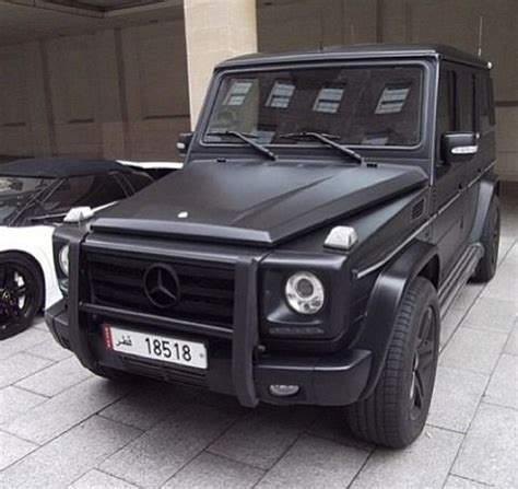 Mercedes Benz Trucks Pinterest G Class Matte Black