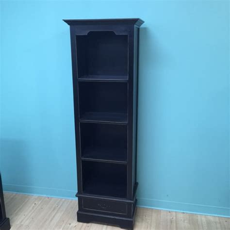 narrow bookcase with single drawer nadeau minneapolis