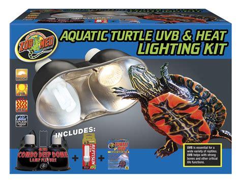 uvb light for turtles aquatic turtle uvb heat lighting kit zoo med