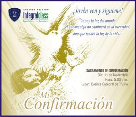 Imagenes De Invitaciones Catolicas   imagenes para invitaci 243 n de confirmacion catolica imagui