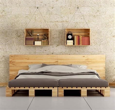 how to make a bed out of pallets 45 easiest diy projects with wood pallets you can build