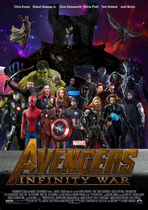 Plakat Infinity War by Infinity War Poster Pictures To Pin On
