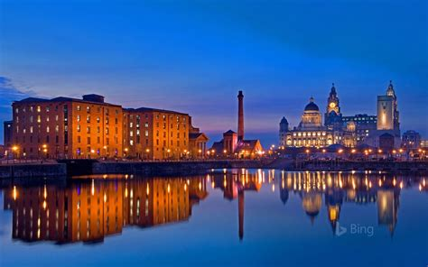 liverpool waterfront merseyside  bing preview