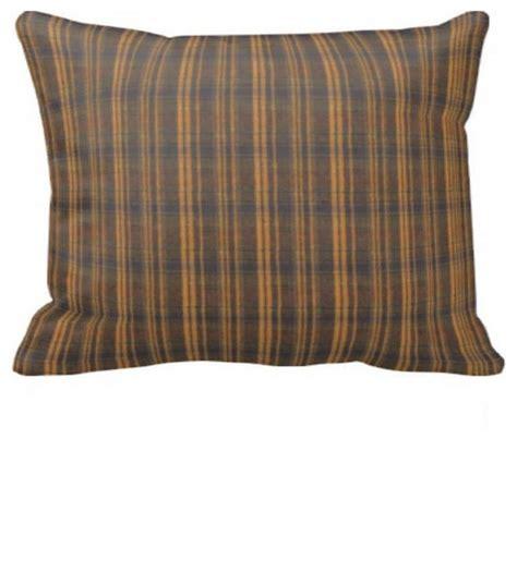 Plaid Pillow Shams by Brown Plaid Pillow Sham 27 Quot X21 Quot Farmhouse