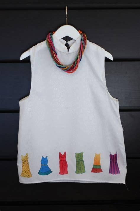 watercolor dress tutorial craftionary