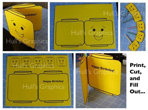printable lego happy birthday cards 6 best images of printable lego happy birthday card free