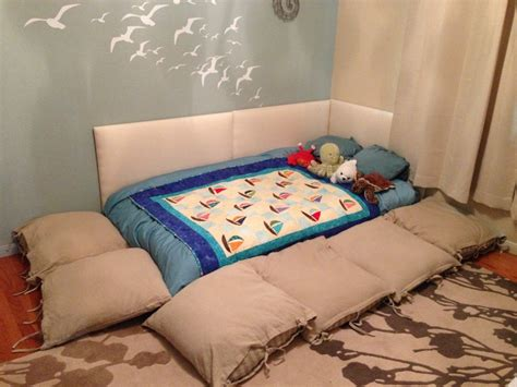 floor bed baby montessori style floor bed baby bedroom a place to dream pintere
