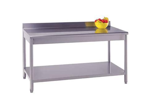 arredo service tavolo in acciaio inox arredo neutro arredamento