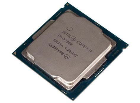 Intel I7 7700k 4 2ghz Up To 4 5ghz Cache 8mb Box Lga 1151 intel i7 7700k kaby lake gets benchmarked and oced cpu news hexus net