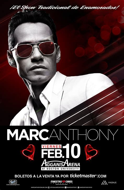 marc anthony fan club presale boston massachusetts marc anthony