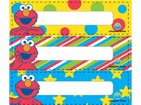free printable elmo name tags character shop popple rakuten global market the packet