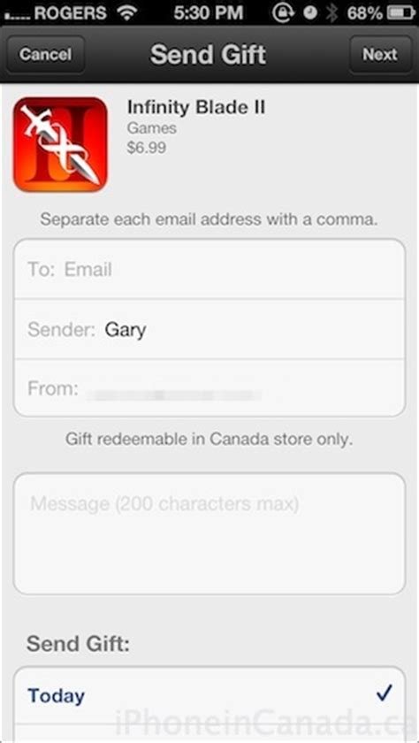 Send Gift Card To Phone - app store debuts itunes gifts to send gift cards app