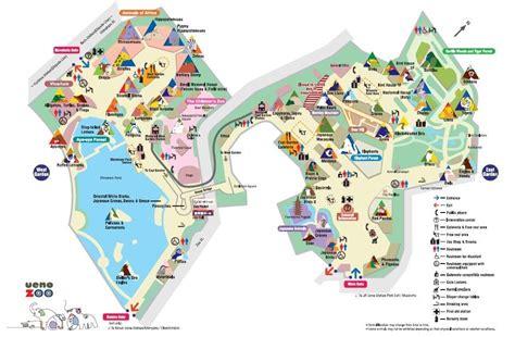Japaner Zoologischer Garten by Detail Ueno Zoo Tokyo Location Map
