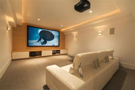 living room captivating home theater for modern living