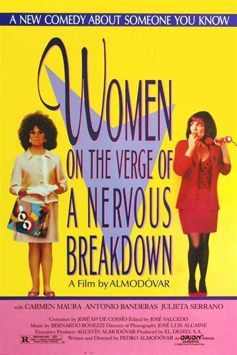 on the verge of women on the verge of a nervous breakdown movie posters from movie poster shop
