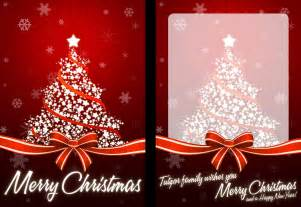 christmas card templates photoshop 2017 template design