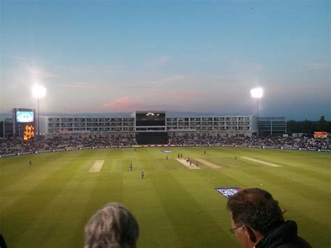 Hiltons Stand In by View From The Debenture Stand Picture Of The Ageas Bowl
