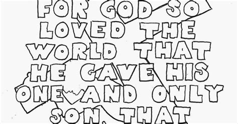 coloring page for john 3 16 coloring pages for kids by mr adron john 3 16 coloring
