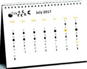 Calendar 2018 Philippines With Moon Moon Phase Calendar Etsy